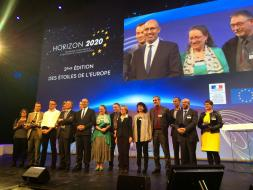 OpenLab Project Honored with Etoiles de l'Europe Award