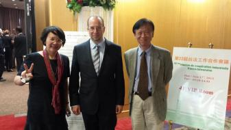 Dr. Friedman at the Taiwan-France ICCM in Taipei