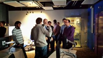 Vint Cerf Visits the OneLab NOC